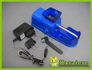 Brand New Blue Electric Cigarette Maker Roller Injector Machine