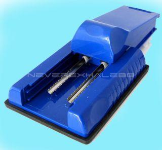 Double ube Cigaree Injecor Machine Roller Maker Blu