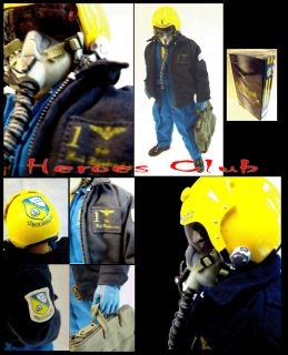 Hot US Navy Blue Angels Pilot 12 Figure Dragon Toys