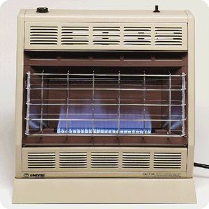 BF30 Vent Free Thermostatic Blue Flame Natural LP Gas Heater