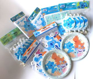 Blues Clues Birthday Party Supplies Select U Need