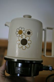 Vintage 70s Poly Hot Pot 1 5 Cups Regal Electric Hot Water Tea Kettle