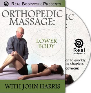 Orthopedic Medical Sports Massage The Lower Body Video on DVD w John
