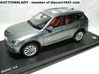 18 BMW X3 xDrive35i 3 5i F25 2010 2012 Grey Grau Gris Dealer Promo