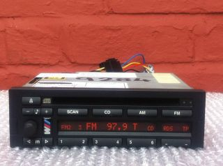 BMW BUSINESS CD43 CD RADIO PLAYER WITH CODE E36 E34 E32 E31 E30 Z1 Z3