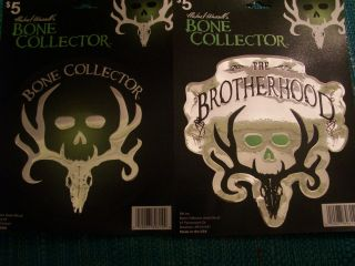 Michael Waddells Auto Bone Collector Decal The Brother Hood X2