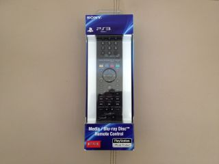 PS3 Official Sony Media Blu Ray Disc™ Remote Control