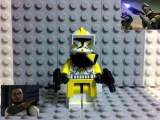 Lego Star Wars Clone Trooper Commander Bly Custom