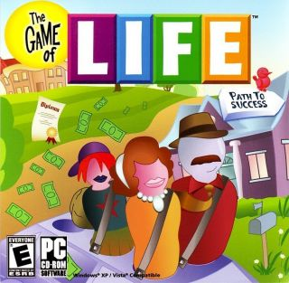 Kids Adult The Game of Life Board PC Computer Game New in Case Vista 7