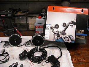 Harley Boom Audio Cruiser Amp Speaker Kit Multi Fit