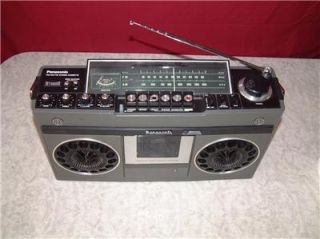 RS 466S Portable Radio/Cassette Player Boombox Ghetto Blaster