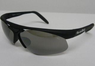 Bolle Vigilante Matte Black Gray Silver Mirror 0752201514 New Old