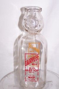 DAIRYLEE BABY TOP ACL SILK SCREEN ON TWO SIDES QUART MILK BOTTLE