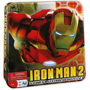 Iron Man 2 Board Games and Puzzle