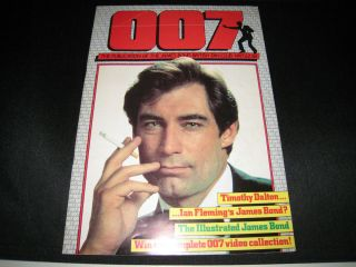 007 James Bond Fan Club Magazine UK Publication Timothy Dalton Issue
