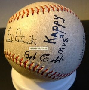 1939 Hollywood Stars Bob Cobb Signed Baseball Gail Patrick Ball PCL