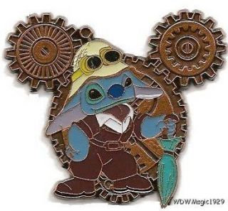 Disney DS Mickey Mouse Steampunk Gears Series Stitch Le 250 Pin