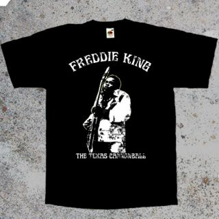 King Blues T Shirt Guitar Band Buddy Guy BB King Robert Johnson