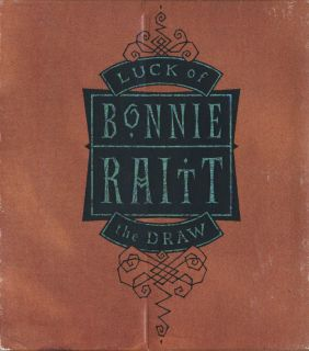 Bonnie Raitt Luck of The Draw CD Richard Thompson Delbert McClinton