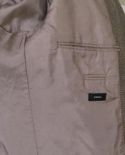Hugo Boss Rossellini Tweed Blazer Gray Rossellini Italy Wool 42R