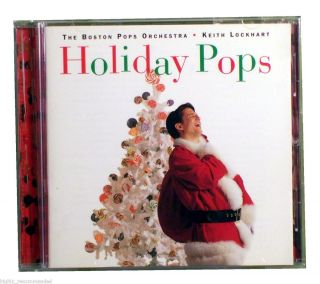 Holiday Pops by The Boston Pops Orchestra Keith Lockhart CD 1998 RCA