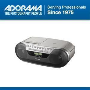 Sony CFDS05 Digital CD Radio Cassette Boombox Player