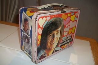 Bobby Sherman Vintage Metal Lunchbox