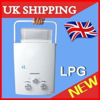 LPG Propane Portable Tankless Instant Hot Water Heater Boiler