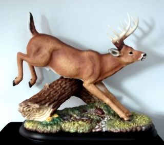 Boehm Ten Point Porcelain Buck Deer Home Interiors