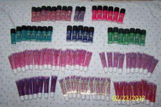 Mood Struck Color Changing Nail Polish & Lip Gloss 88 Total PC Great