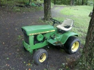 John Deere 140 H1 Tractor Snowblower 48 Mover Deck