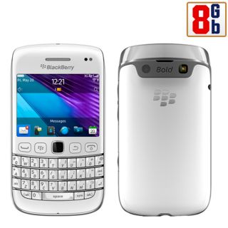 New Blackberry Bold 9790 8GB White WiFi Unlocked GSM Quadband 3G ATT