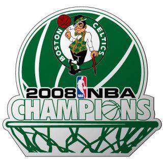 Boston Celtics 2008 NBA Champs Car Magnet 6 Champions