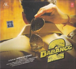Dabangg 2 Hindi Songs CD 2012 Bollywood Indian Cinema Salman Khan