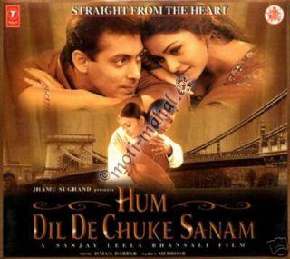 DIL de Chuke Sanam Salman Khan Aishwarya Rai Bollywood Music CD