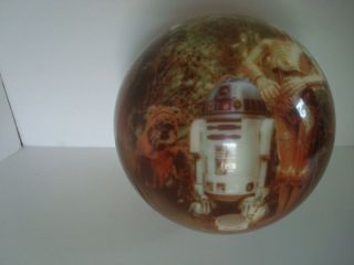 Viz A Ball Star Wars Episode VI Bowling Ball Used