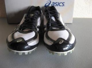 Asics Hyper MD Black White Track & Field Track Shoes 13 Spikes 7mm Pyr