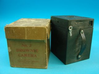 Vintage Brownie Box Film Camera No 3 Model B Box