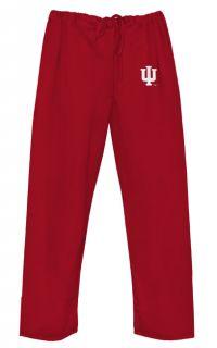 Indiana University Scrubs Med Bottoms Pants Best College Logo Apparel