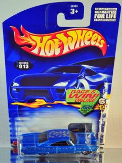 Hot Wheels 1965 Pontiac Bonneville 2003 First Editions Series Blue