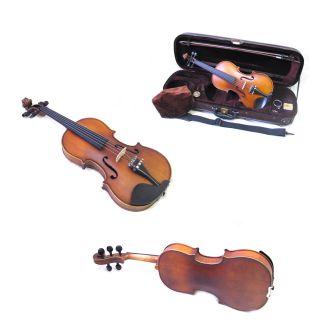 High Quality Helmke 5 String 4 4 Violin w Locking Case Bow Rosin