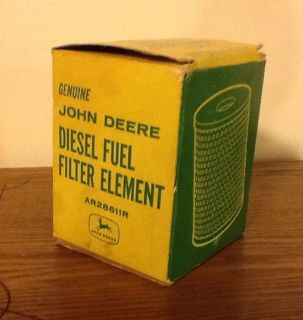 Vintage John Deere Diesel Fuel Filter Element Part Antique