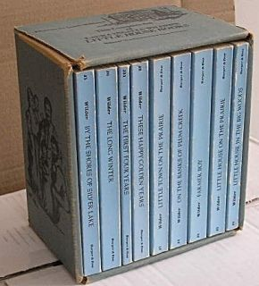 Little House On The Prairie Books by Laura Ingalls Wilder Boxed Set