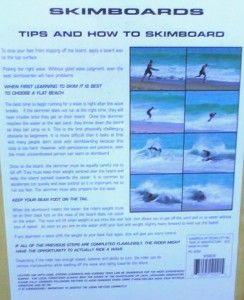 Wood Skimboard Tribal Phoenix Body Surf Wave Water Boogie Skim Board