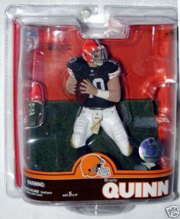 McFarlane NFL Series 16 Football Brady Quinn Cleveland Browns Action