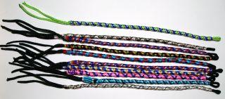 Wholesale Lot of 20 Friendship Bracelets Screw Twisted