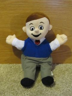 Ace Boy 12 5 Plush Full Body Hand Puppet School of Tomorrow Christian