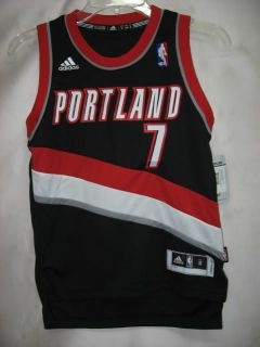 Brandon Roy Portland Trail Blazers Black NBA Youth SWINGMAN Jersey