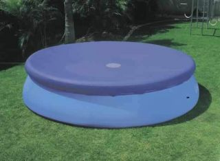 24 Foot Round Swimming Pool Cover for Intex Easy Set