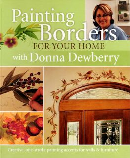 Painting Borders Donna Dewberry Instructions Illustrations Projects